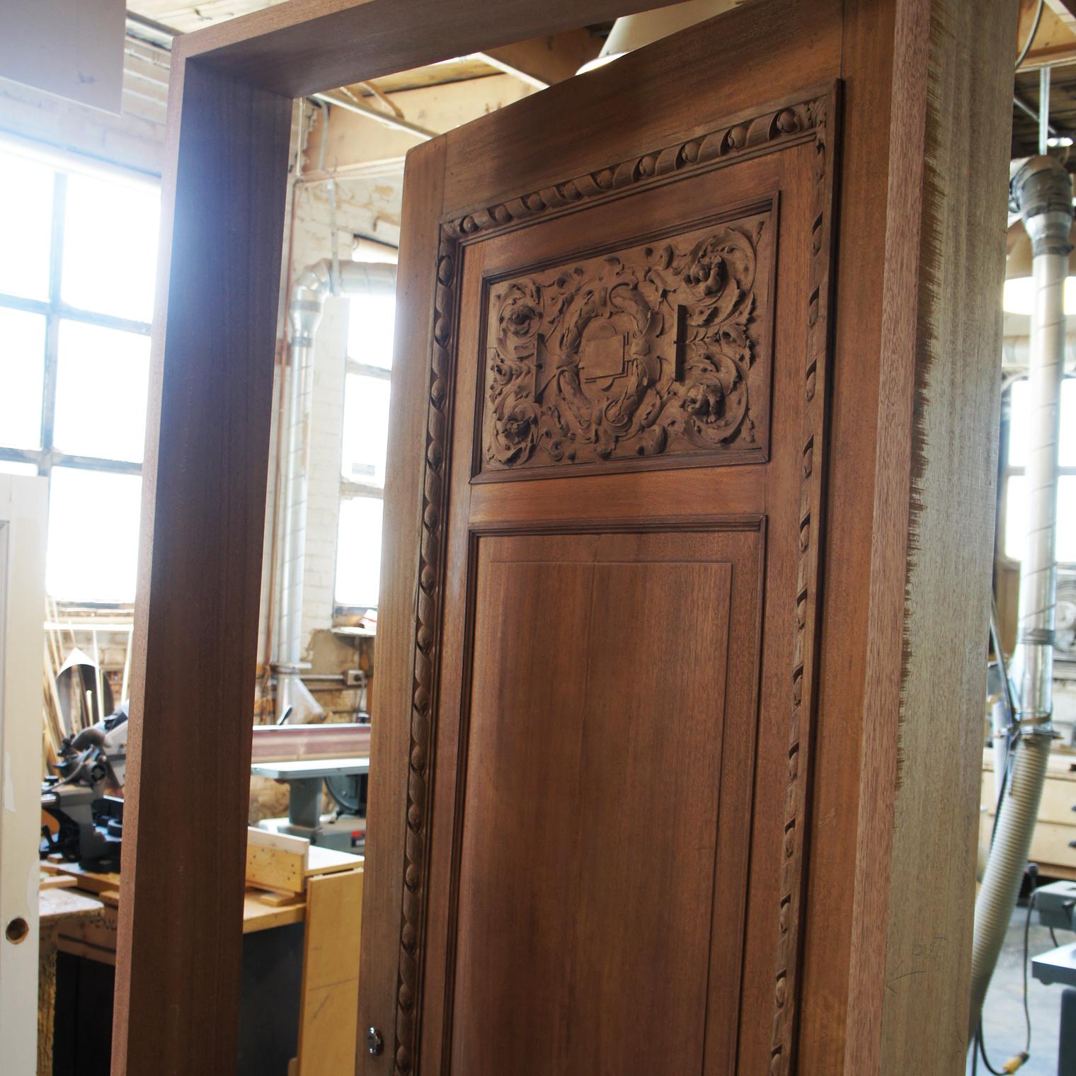 wood furniture and door restoration