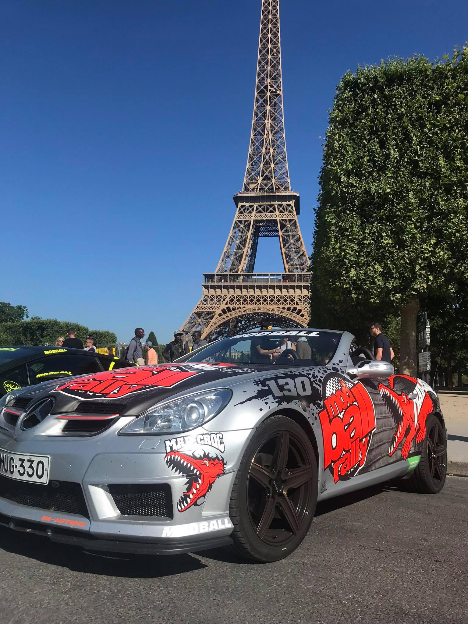 Team MadCroc #130 Euroopan halki rallissa 2018.