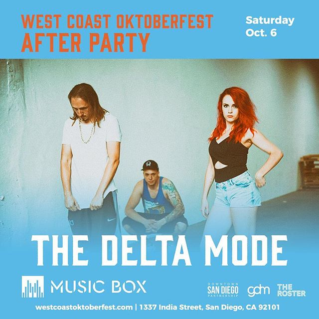 Our After Party is happening right now at @musicboxsd! 🎉🎉🎉 Come on down! • Online tickets for tomorrow go up at midnight so grab yours now: westcoastoktoberfest.com