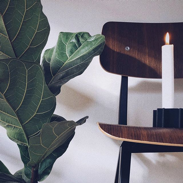 The No. 1 candle light holder – here shown with a single candle #danishdesign #interior #candle #candlelight #candlelightholder #danish #madeindenmark #denmark #design #craft