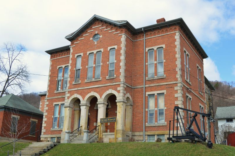 Old Jail Museum, Smethport - Photo Credit: Nyttend [Public domain], from Wikimedia Commons