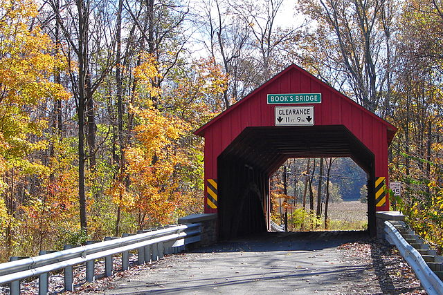 Books Covered Bridge - Photo Credit: By Smallbones - Own work, Public Domain, https://commons.wikimedia.org/w/index.php?curid=11863457