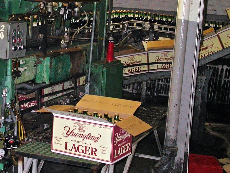 Yuengling Brewery - Photo Credit: Mredden [Public domain], via Wikimedia Commons