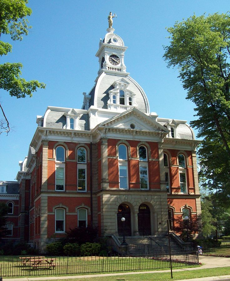 Warren County Courthouse, Warren, PA - Photo Credit: Pubdog [Public domain], from Wikimedia Commons