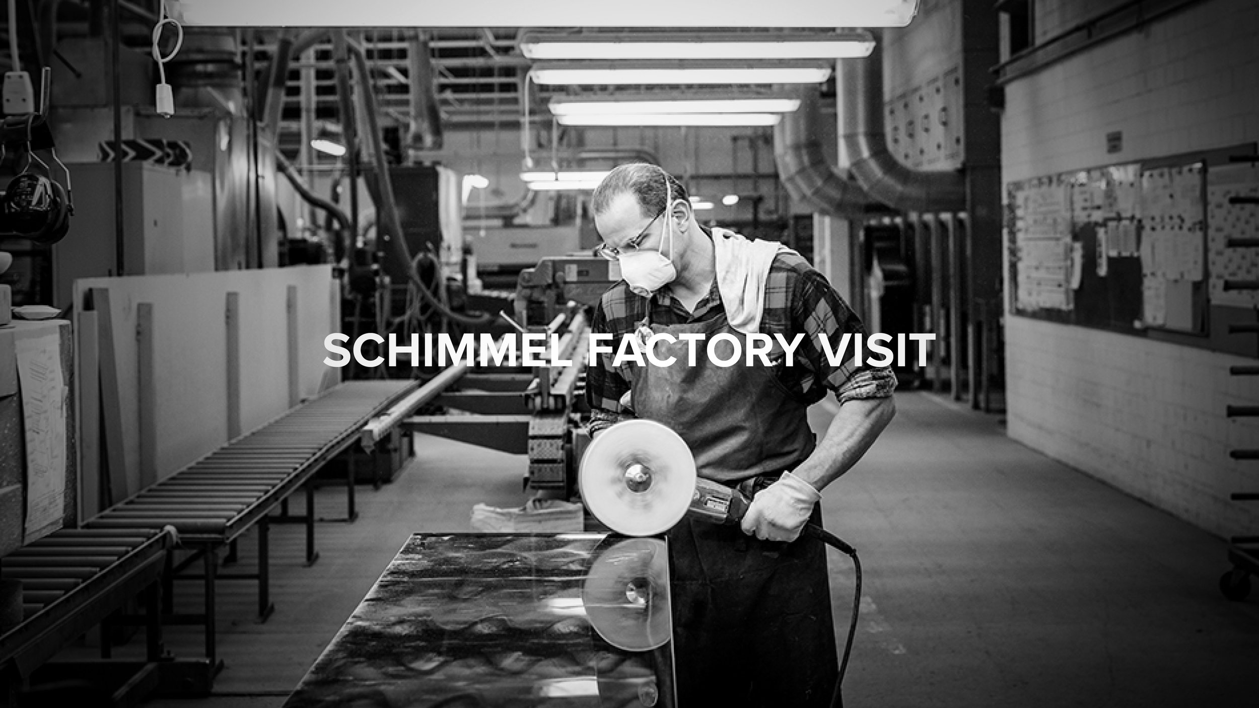 Schimmel Factory Visit - A ONCE IN A LIFETIME VISIT