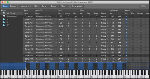 How To Sample For Pianobook — pianobook