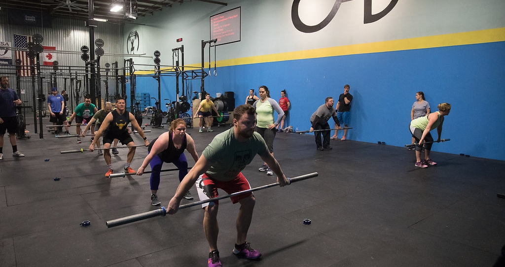 CrossFit Aevitas - Increased Work Capacity Over Broad Time And Modal Domains