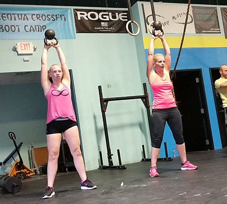 Judy and Abby getting stronger side-by-side