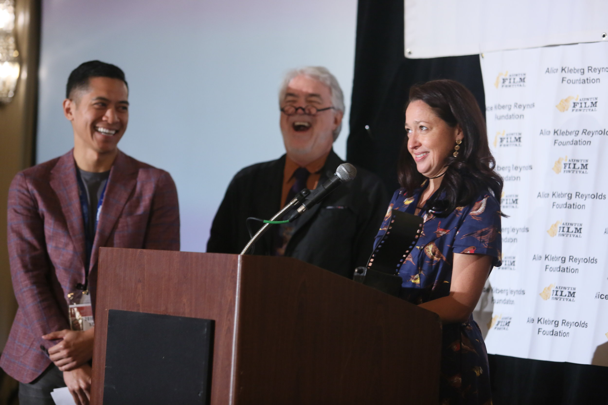 Matt Dy, Jim Hart, Wenonah Wilms Austin Film Festival