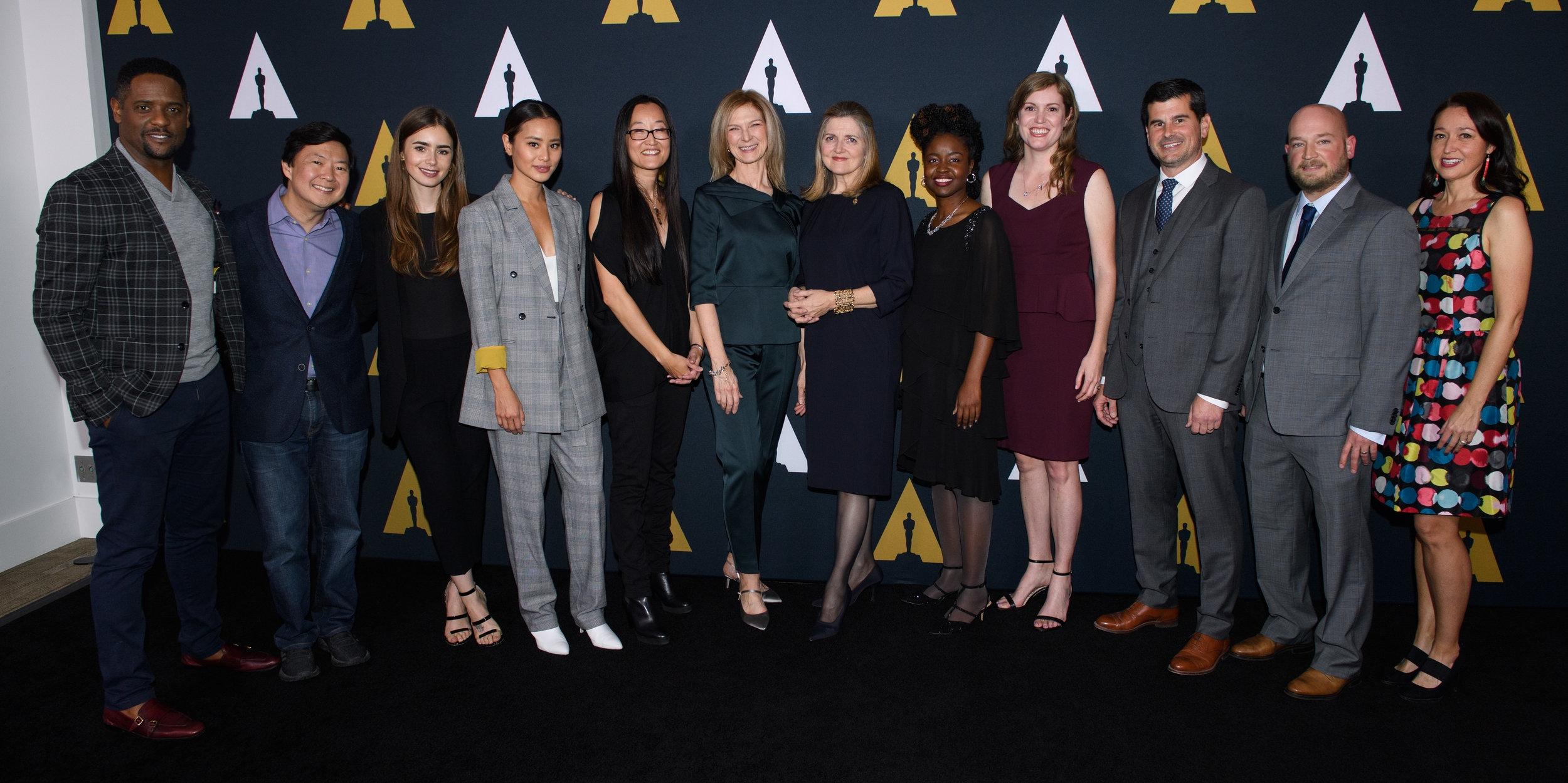 2018 Academy Nicholl Live Read Reception