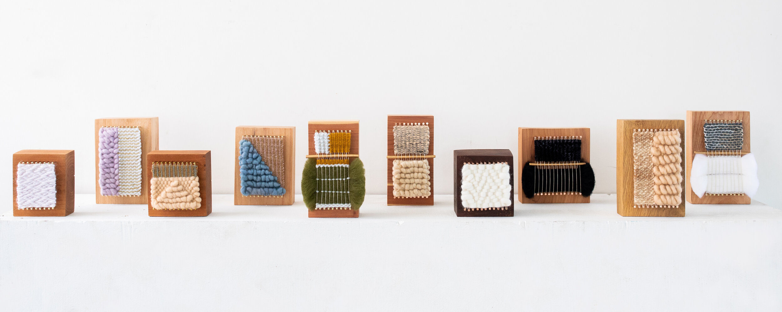 Twenty Two West x Spoak - Mary Hamby is a full-time artist in Charlotte, North Carolina. Born and raised in Greenville, South Carolina, she named her brand after her childhood home address - Twenty Two West. Each loom block in this collection is handmade and one-of-a-kind.