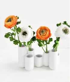 Clustered Ceramic Bud Vase by Leif