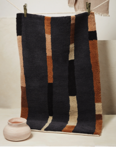 Lines Pile Rug by Minna Goods