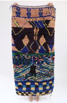 Boucherouite Rug by Beklina