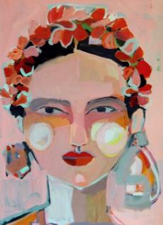 Freida Print by Hayley Mitchell Art