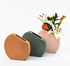 Circle Vase by CKTC Ceramics