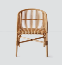 Jakarta Rattan Dining Chair by The Citizenry