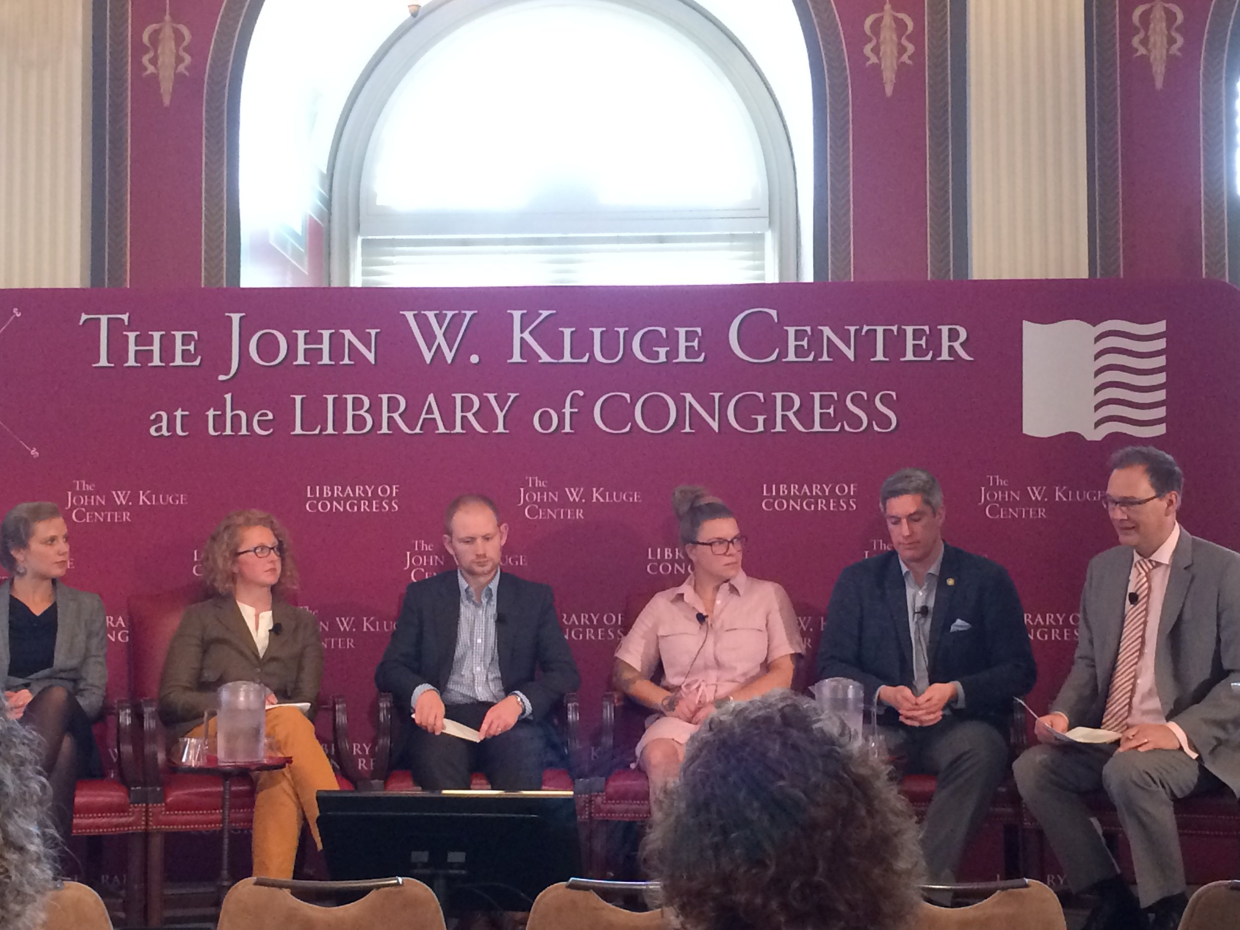 Transatlantic Calls: People to People panel at Library of Congress