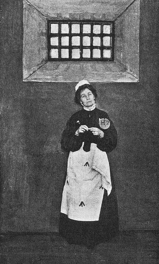 Unknown -  The Suffragette  by Sylvia Pankhurst. New York: Source Book Press, 1970. First published by Sturgis & Walton Company (New York), 1911. Facing p. 330.