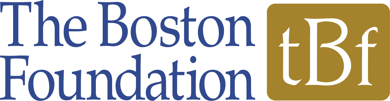 """2018 production  Next Level  sponsored completely by The Boston Foundation as a 2018 LAB Grantee. The Boston Foundation logo: """"The Boston Foundation"""" in blue lettering with a gold square and """"tBf"""" in white lettering to the right of it."""