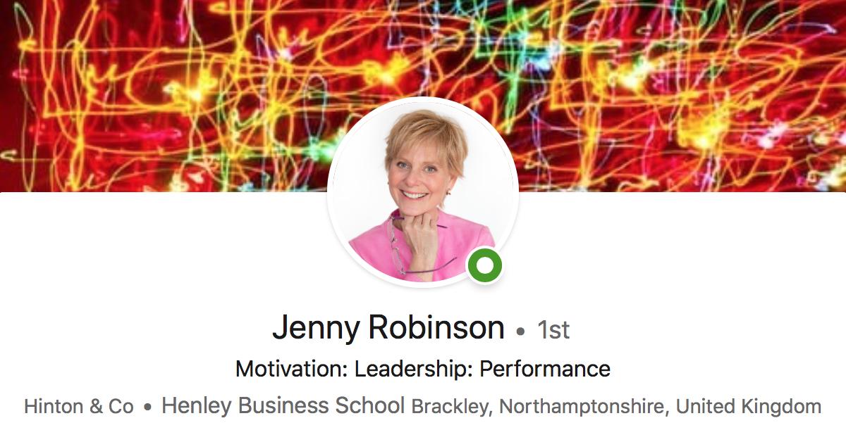 Jenny Robinson on Linkedin