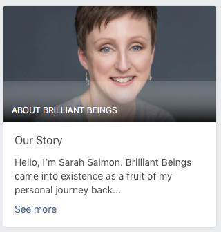 Brilliant-Beings Facebook Page