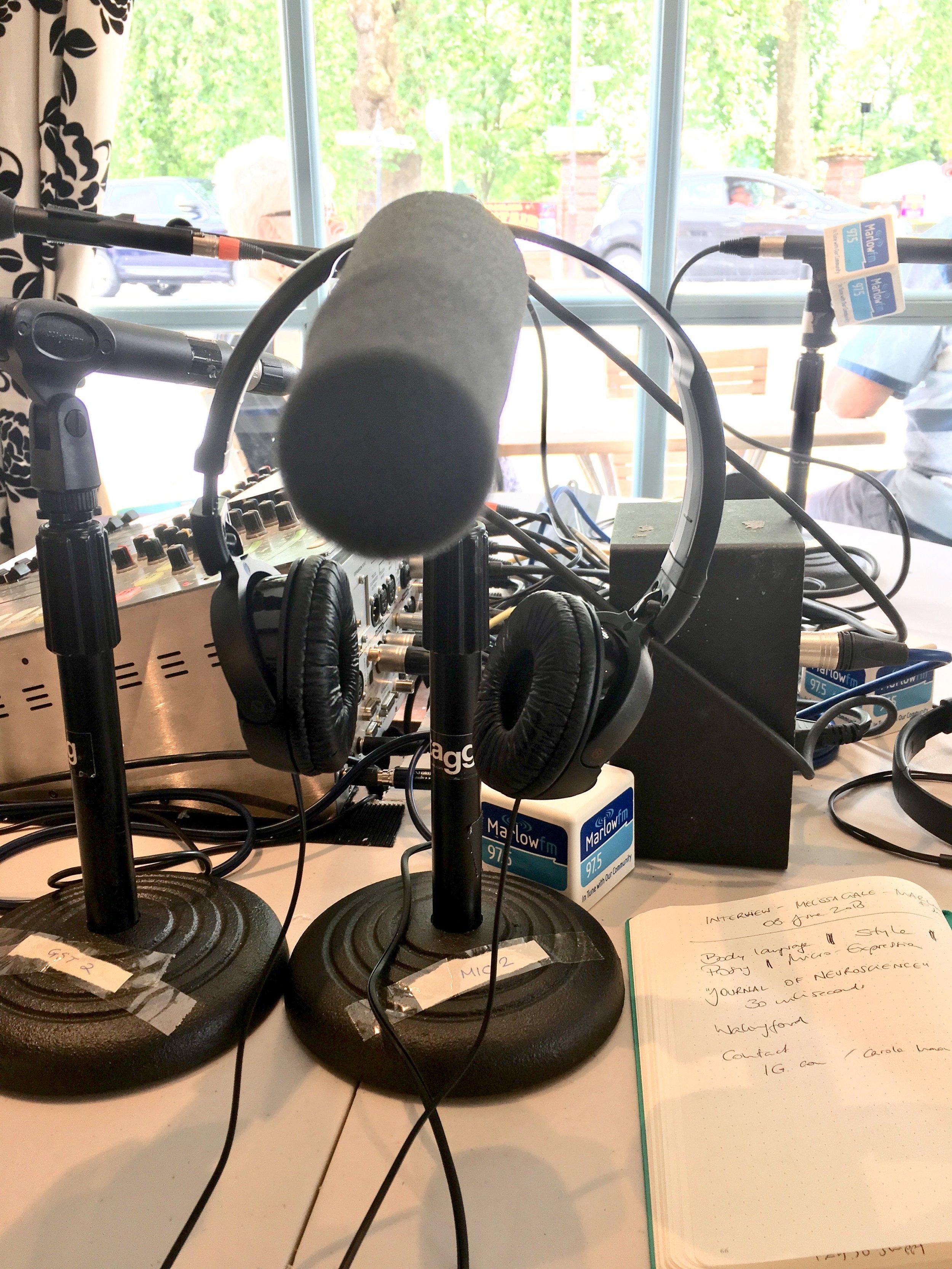Carola Moon at MarlowFM's The Buzz - Radio Interview with Melissa Gale 2.jpg