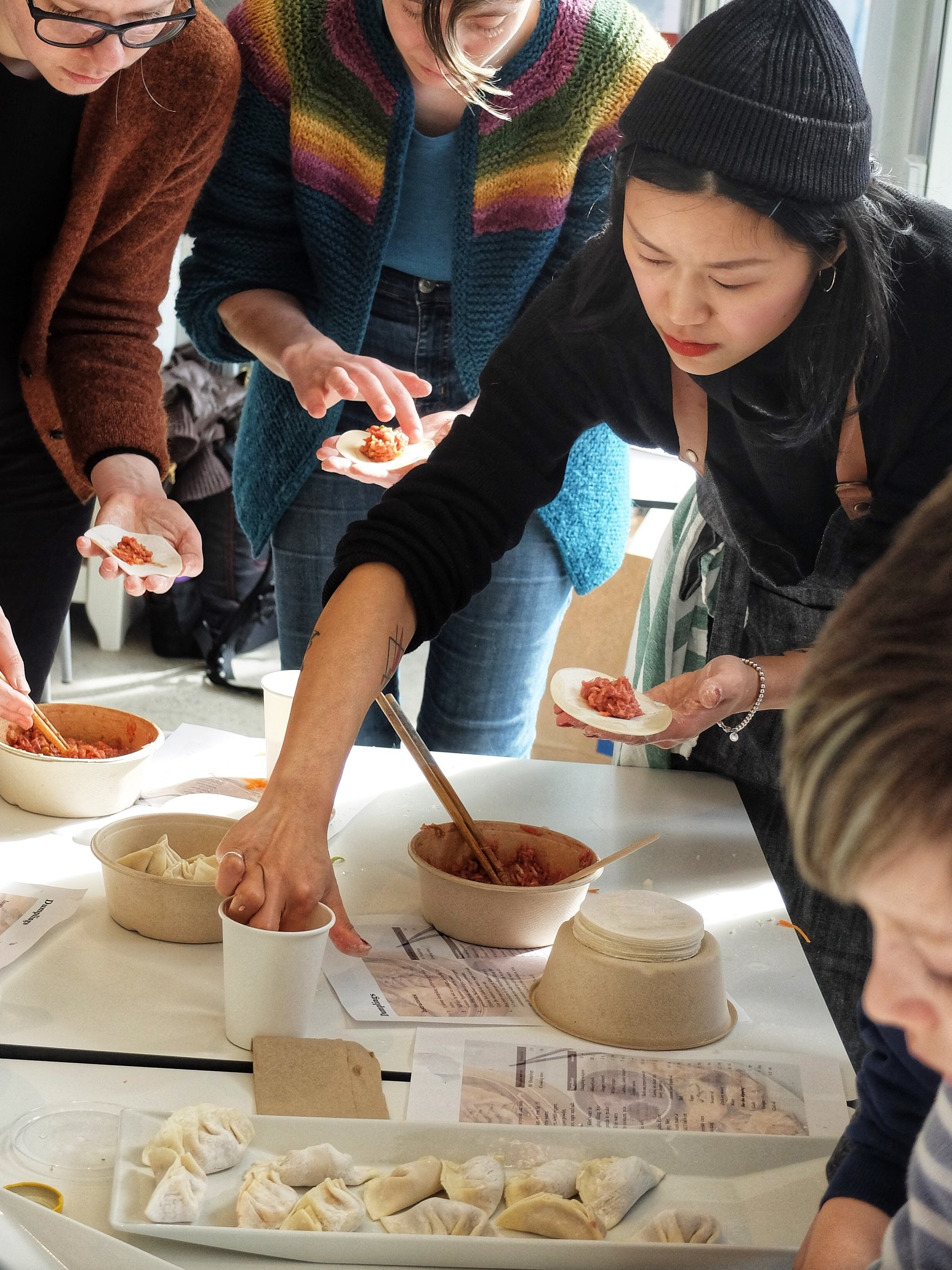 Workshop Dumplings 31.03.2019  Photo: Lana Zaychenko