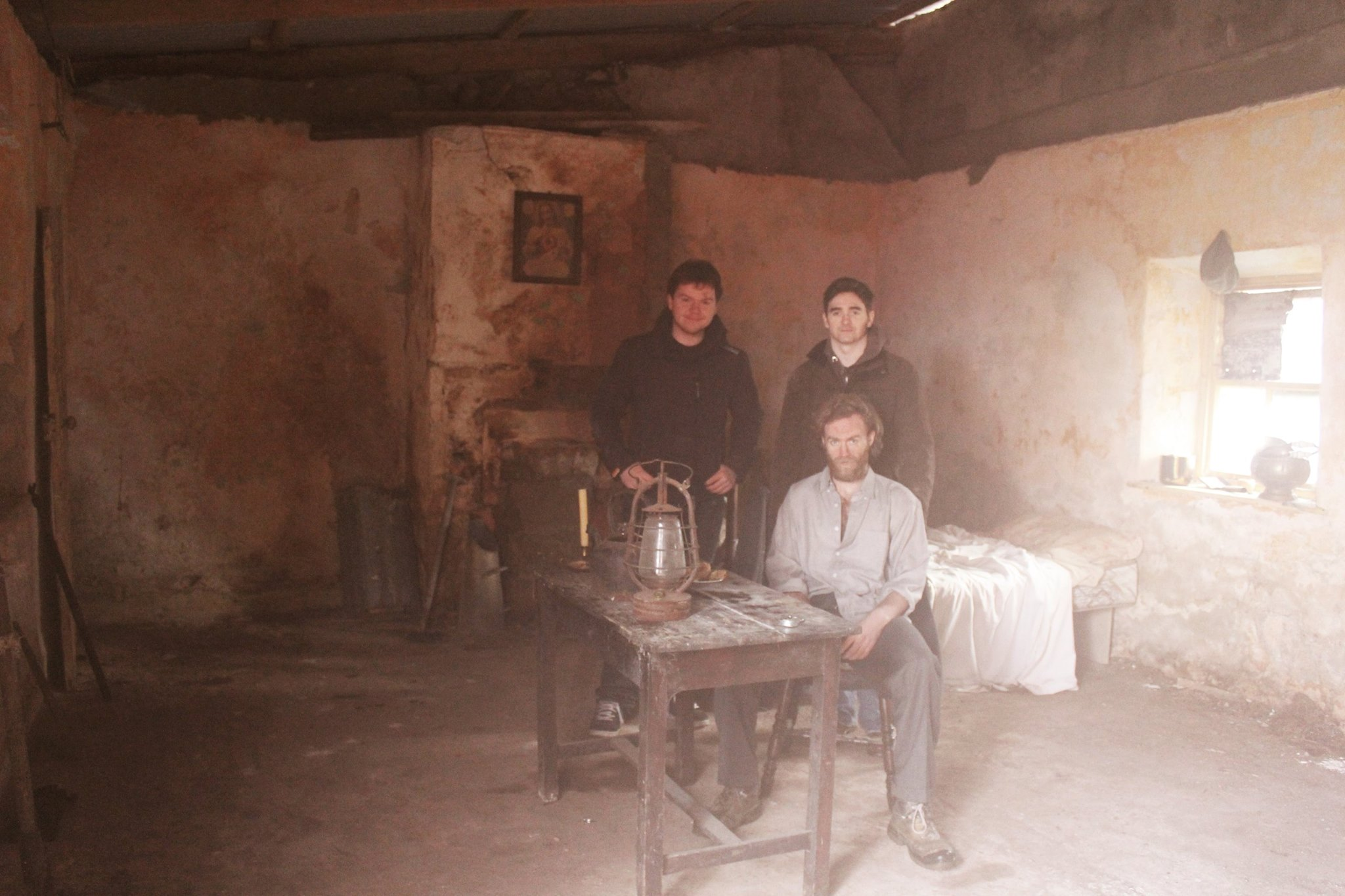 On the Dublin tenement set of A Soldier's Voice.