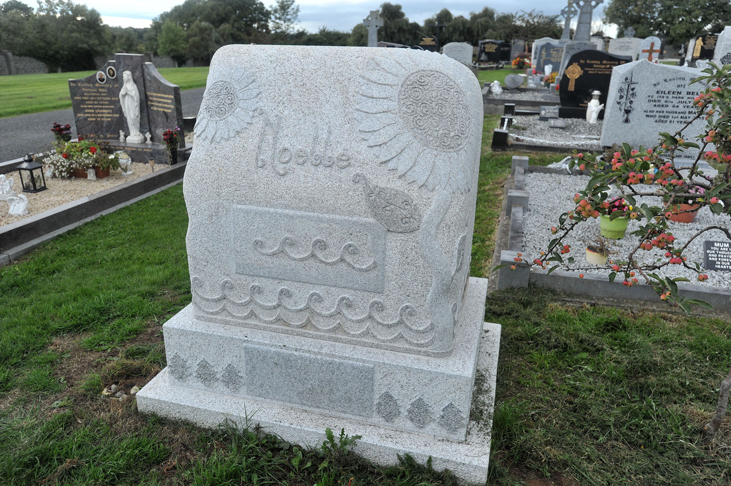 Handcrafted Natural Headstones