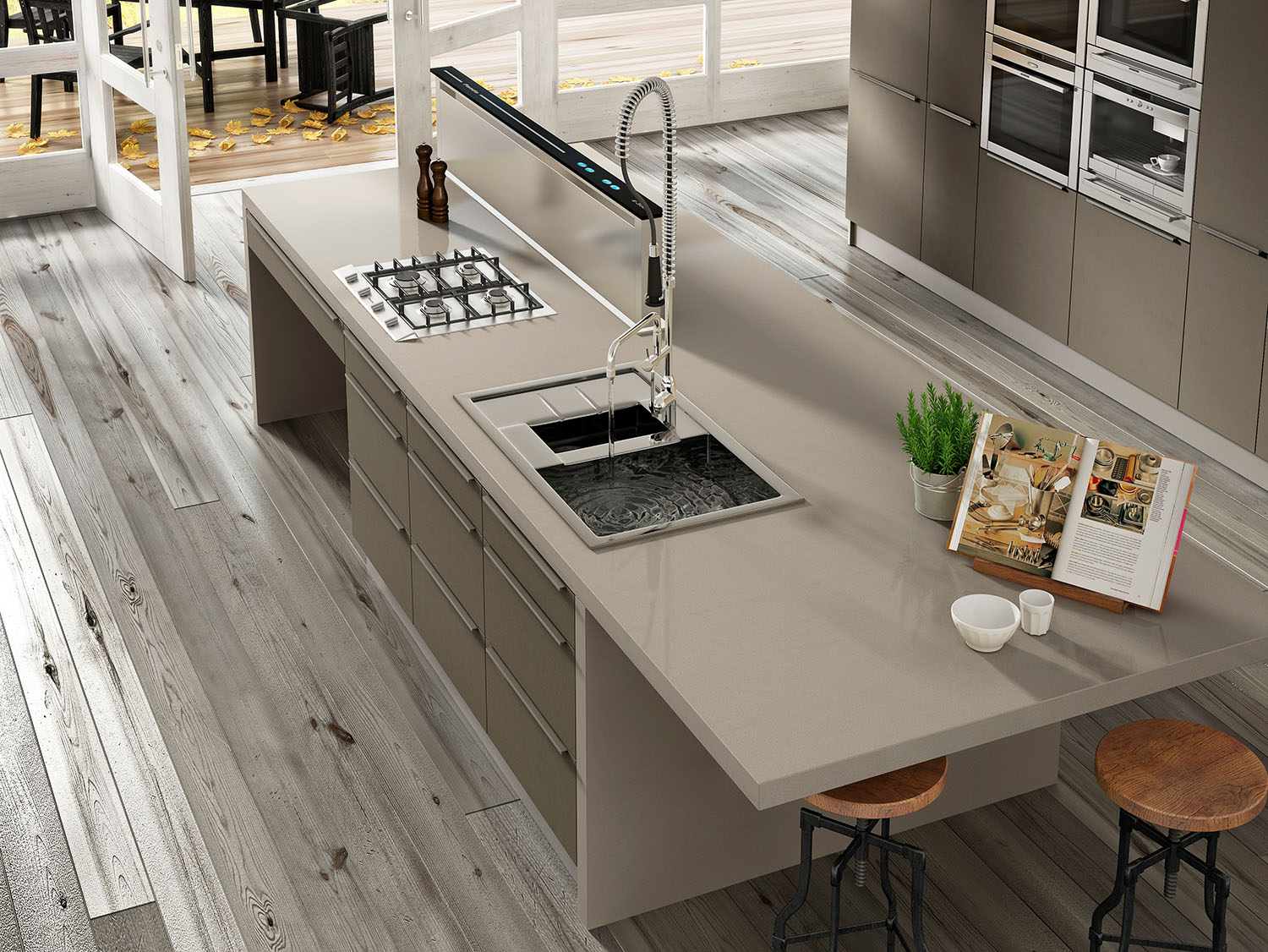 state-of-the-art worktops