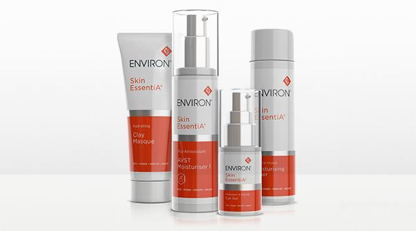 SKIN ESSENTIAL RANGE CONTAINS COMBINATION OF A, C, AND E, POWERFUL ANTIOXIDANTS AND OTHER ESSENTIAL INGREDIENTS TO ASSIST IN REVEALING BEAUTIFULLY RADIANT SKIN