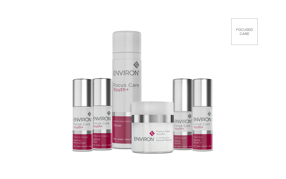focus specific skin care scientifically targeted to delivering youth enhancing benefits.