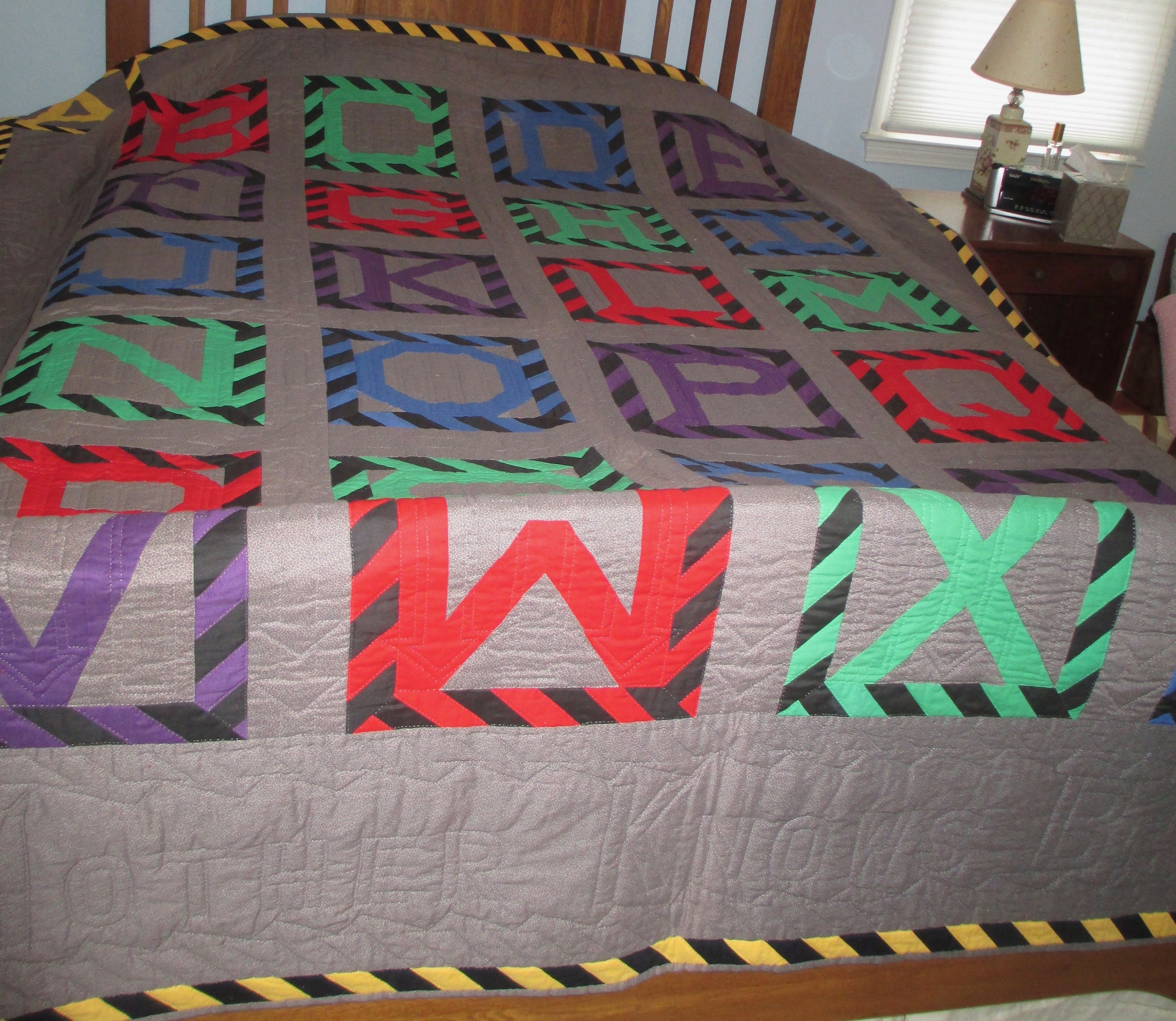 ABC/Patchwork Letters  SOLD