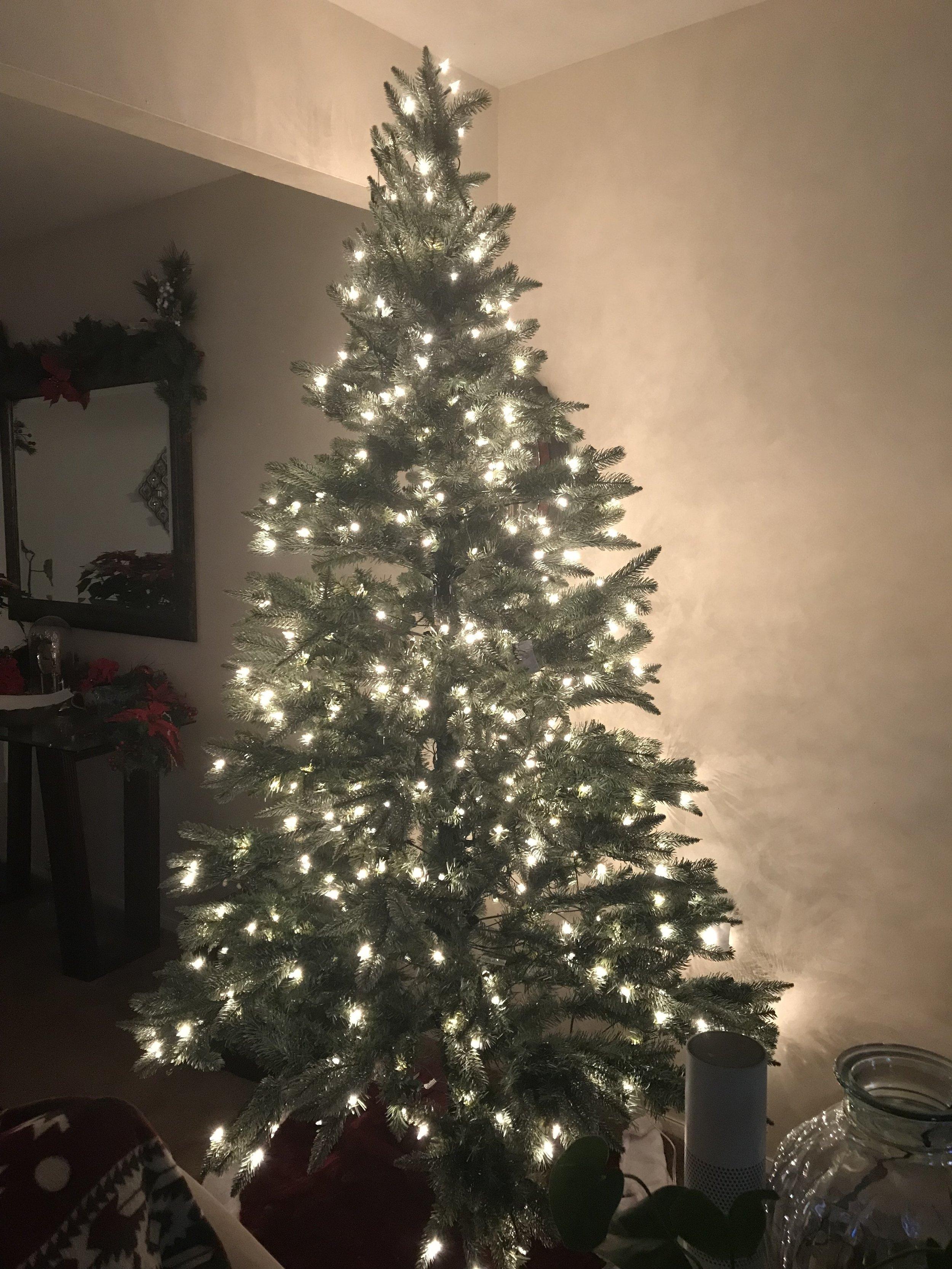fake christmas tree.JPG