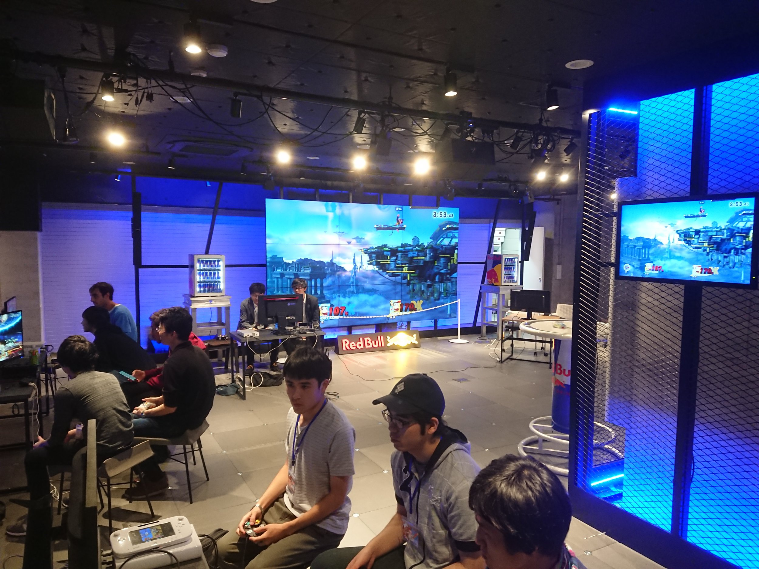 Tokyo Weekly Smash Party in Red Bull Gaming Sphere, Nakano