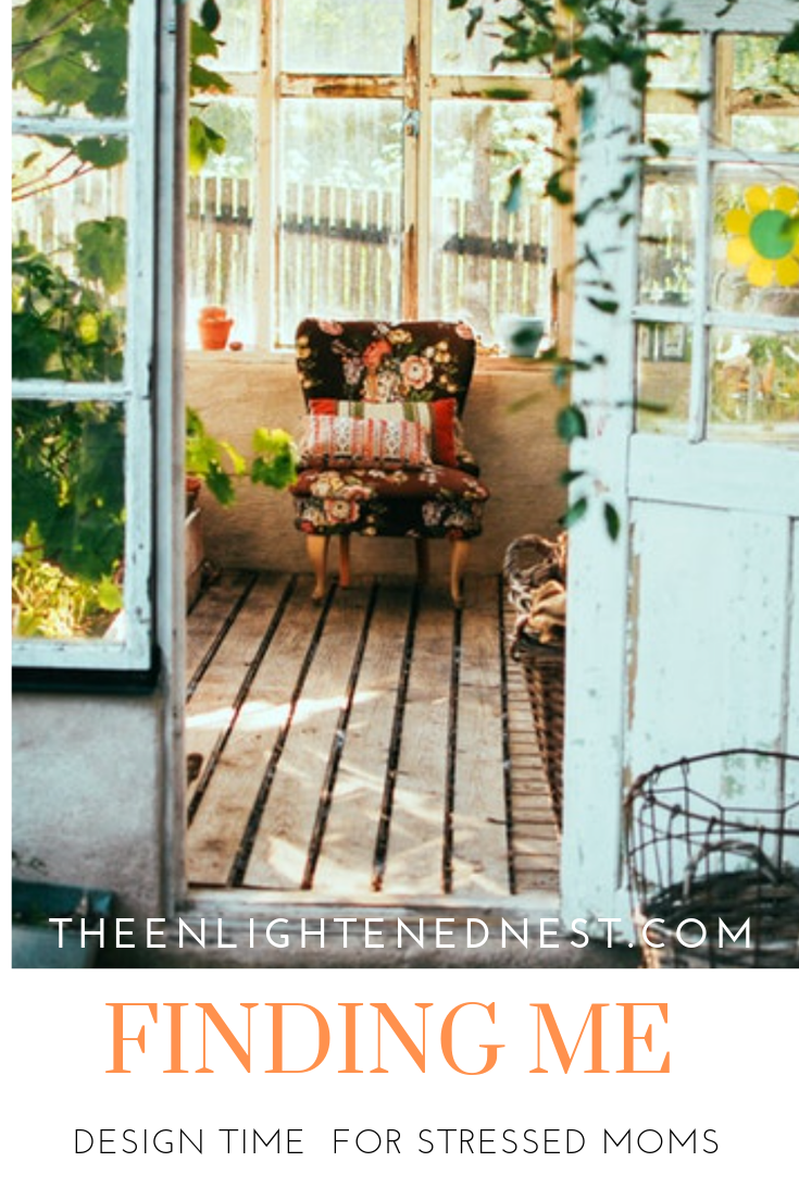mindfulness design, cottage; garden shed; me time; busy moms; floral; turquoise door