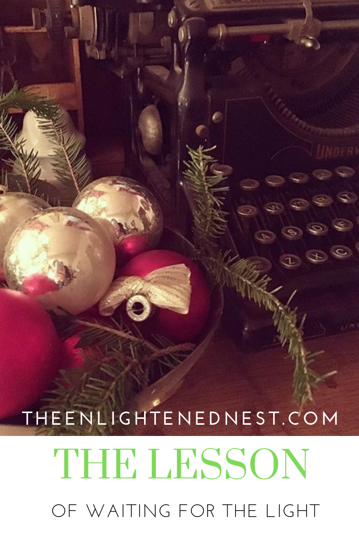 vintage christmas; ornaments; old typewriter; silver; advent.png