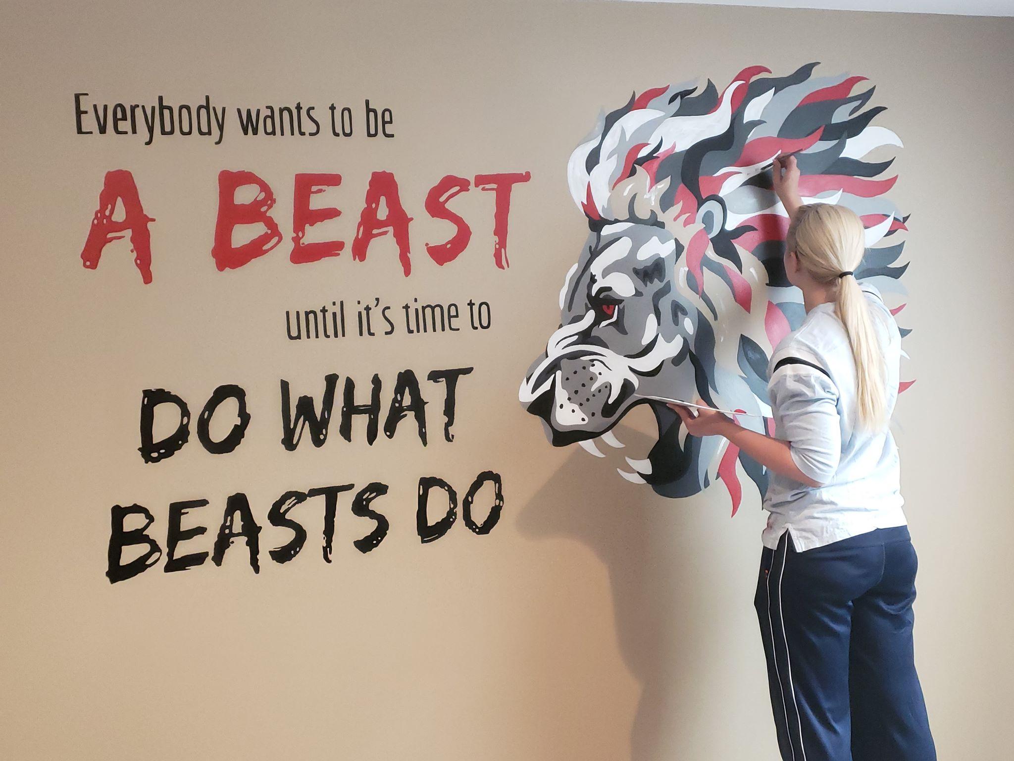 Beast Mural