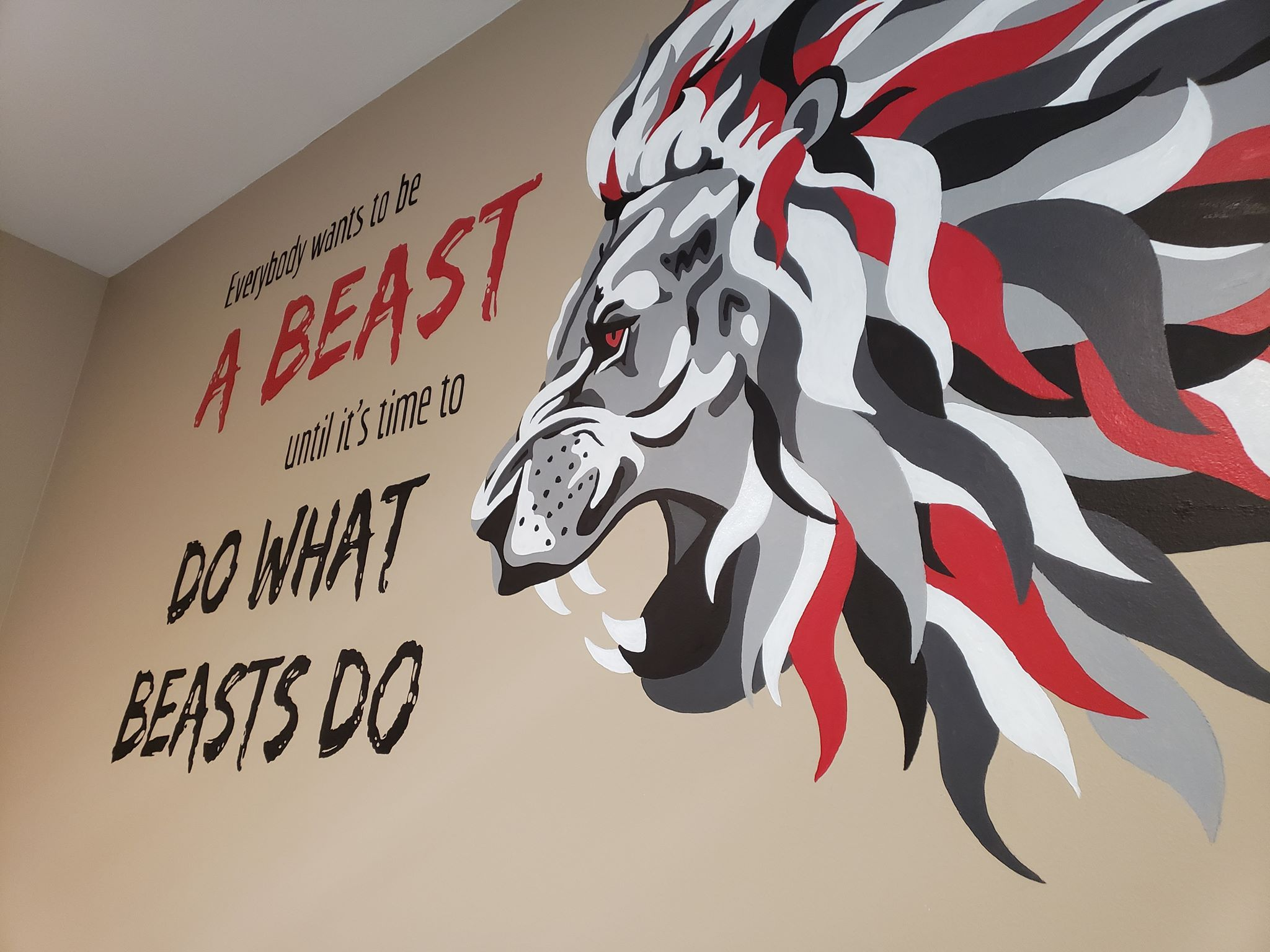 Copy of Beast Gym Mural