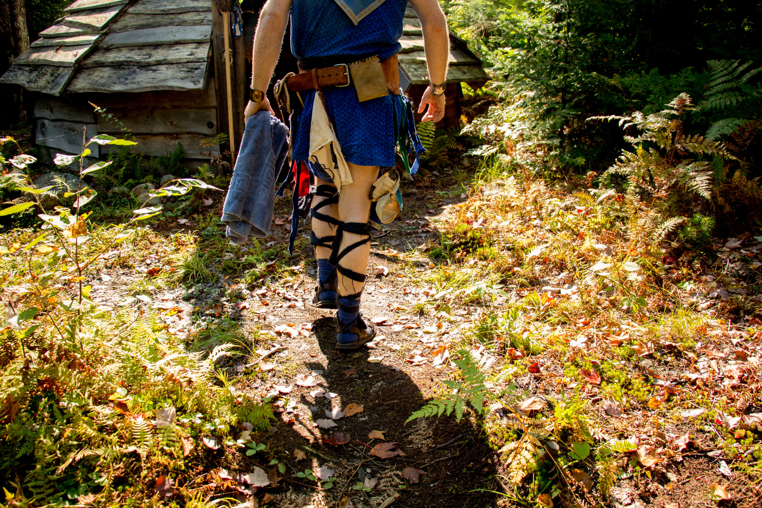 "For 8 days every summer, Dagorhir chapters come together in Pennsylvania at an event called Ragnorok. Participants fight in battles, sell and trade crafts, and socialize with other larpers. ""My life is Ragnorok, my birthday, Ragnorok, "" says Kevin Dillard."