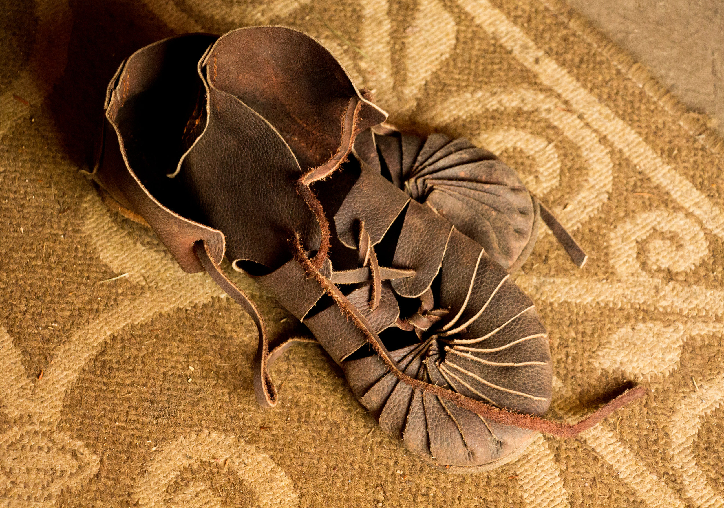 Shoes belonging to Adikan Rafenson.