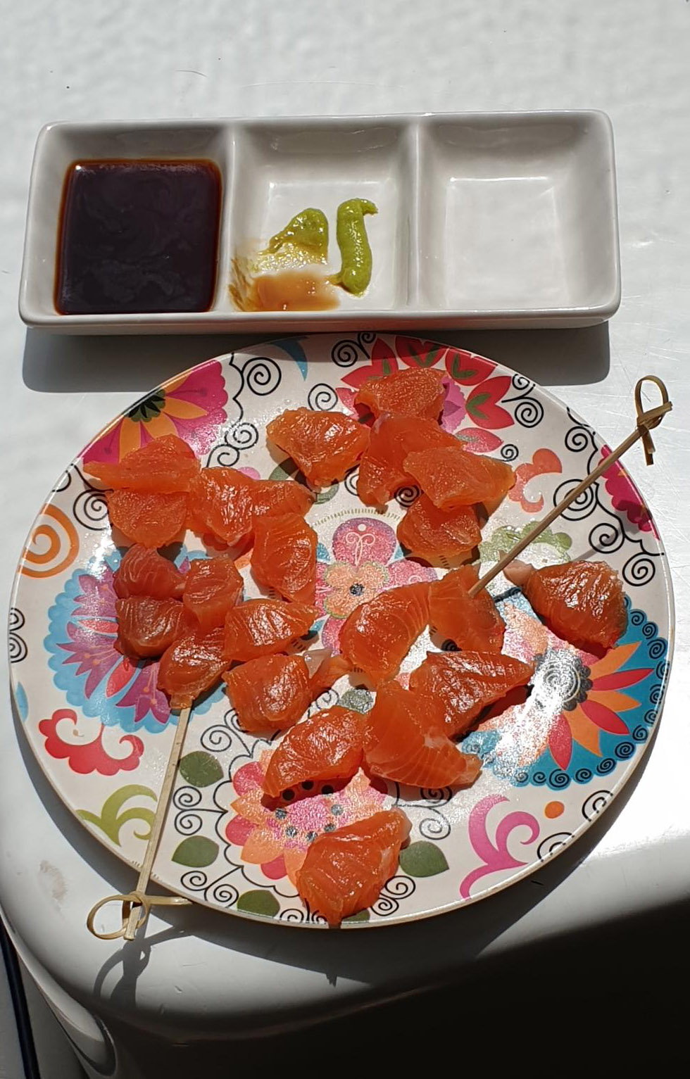 Trout fishing in New Zealand - made into sashimi.jpg