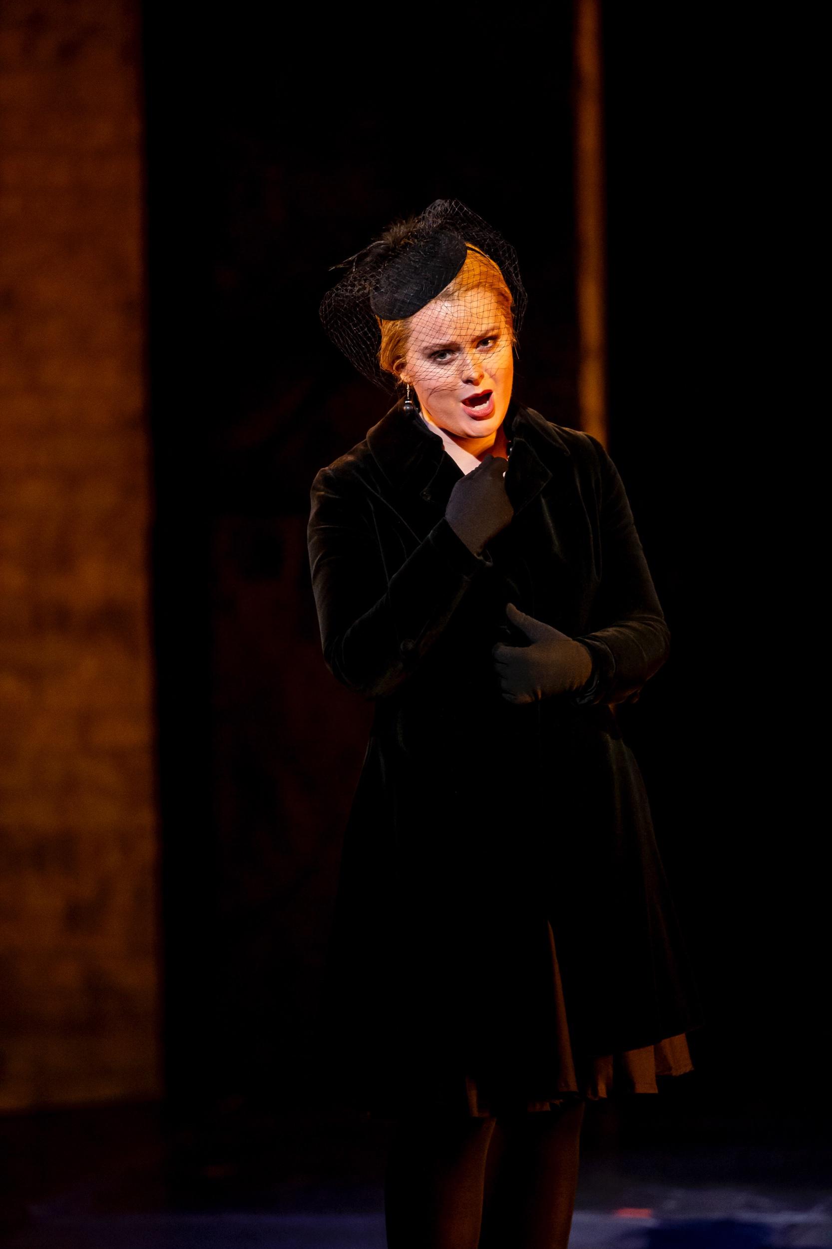 Donna Anna in Tulsa Opera's Don Giovanni (2019)