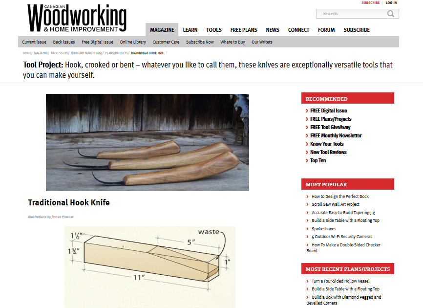 How to make a woodcarving knife