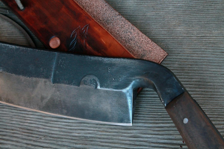 Heavy Duty handmade draw knives. Walnut handles.