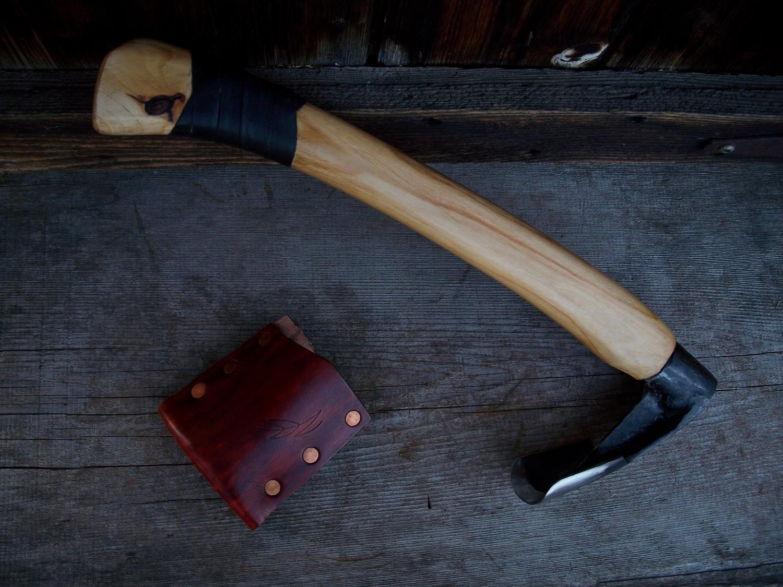 Custom Handmade Bushcraft Adze
