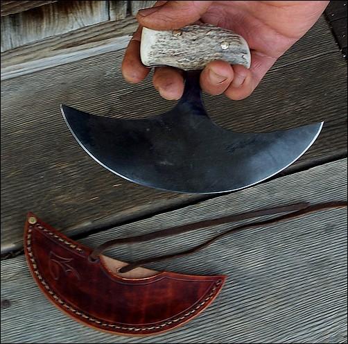 Handmade Single Stem Ulu Knives