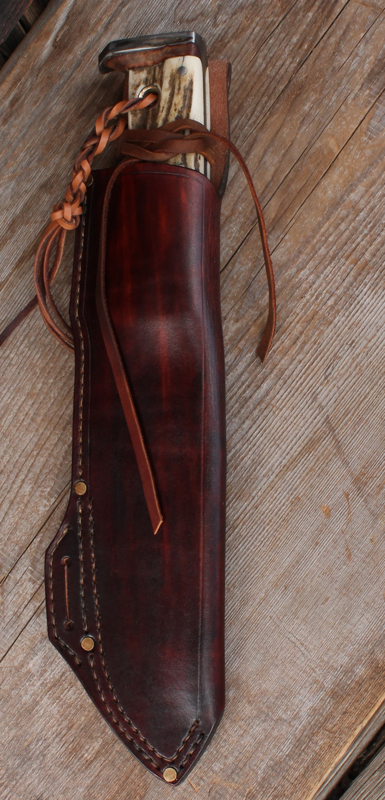 Handcrafted Survival Knife Sheath