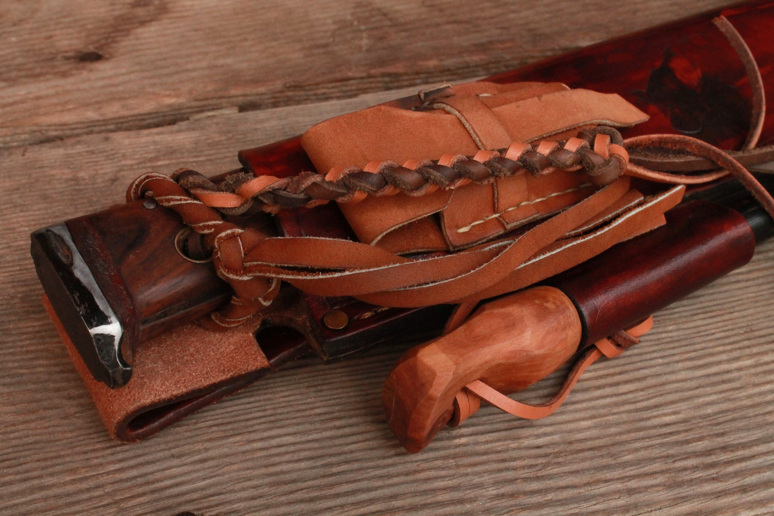 Loaded Survival Bushcraft Sheath